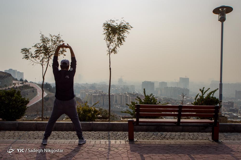 ورزش در آلودگی هوا