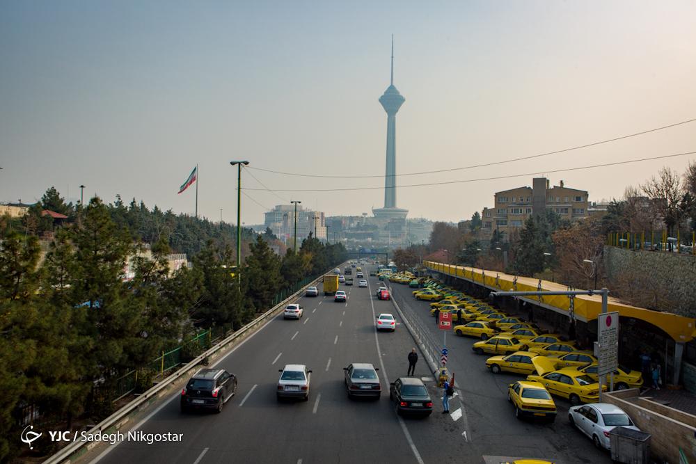روزهای آلوده تهران