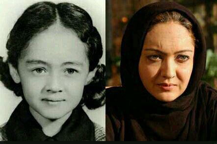 عکس دیده نشده از کودکی بازیگر معروف دهه هفتاد