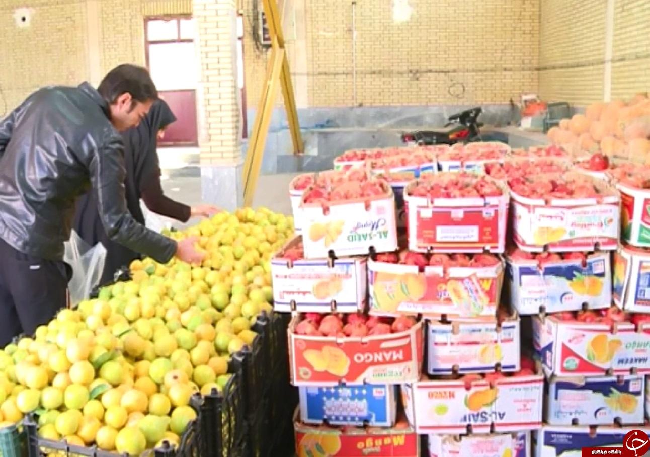 کاهش قیمتها در دلیجان در آستانه شب یلدا