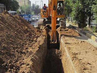 توسعه ۶۰۰ متر شبکه آب در شهر صالح آباد