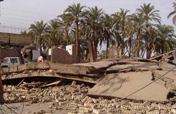 شانزدهمین سالگرد زلزله بم در امامزاده زید