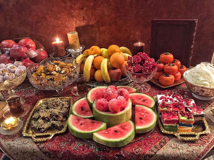 خوراکیهای شب یلدا