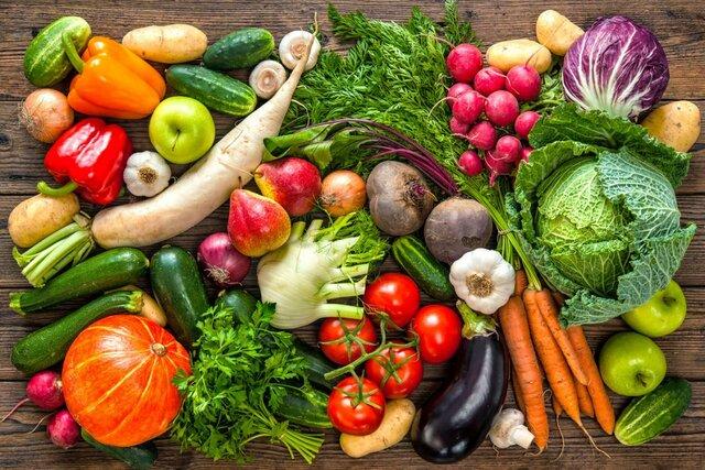 مصرف میوه و سبزیجات تازه در روزهای آلودگی هوا