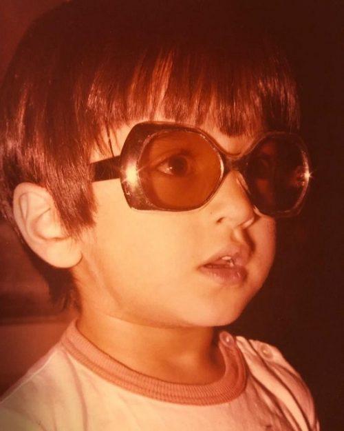 عکسی کمتر دیده شده از دوران کودکی رامبد جوان