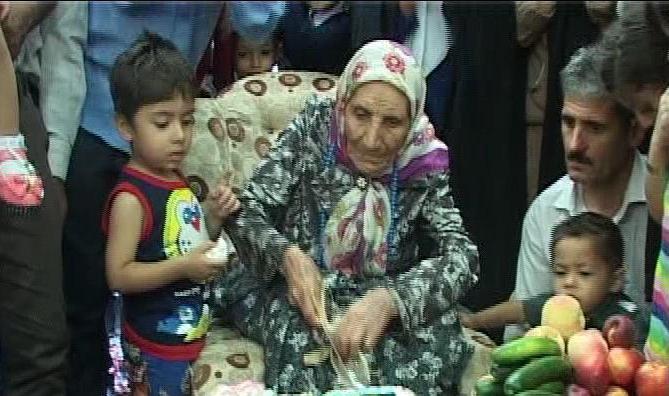 مسن ترین بانوی زنجانی درگذشت