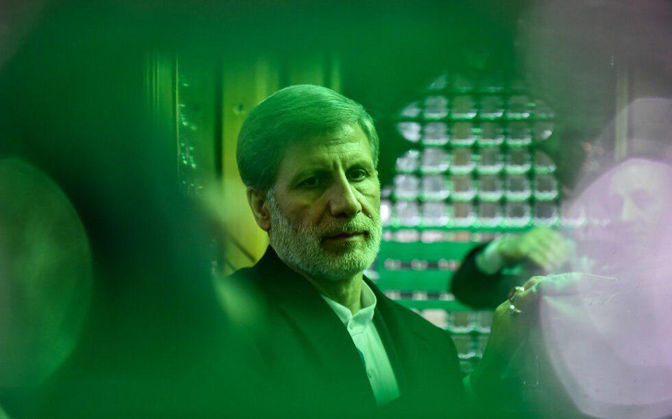مراسم غبار روبی ضریح حضرت عبدالعظیم حسنی(ع) با حضور وزیر دفاع