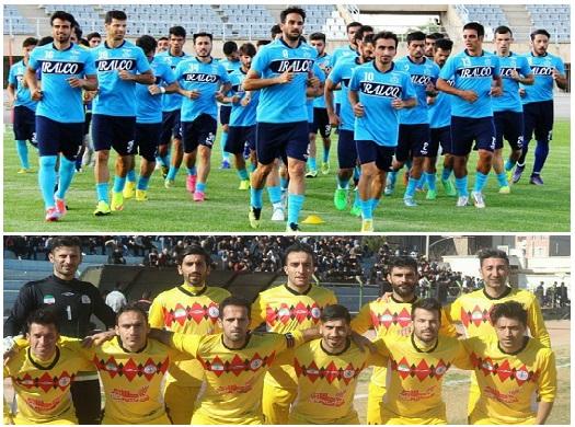 تقابل نمایندگان فوتبال استان مرکزی با گیلانیها