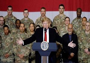 چرا ترامپ ناگهانی به افغانستان رفت؟