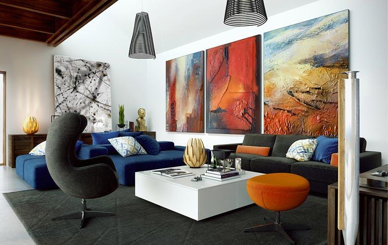 چگونه خانه خود را به نگارخانه تبدیل کنیم؟ / چگونه خانهای زیبا و هنری داشته باشیم؟