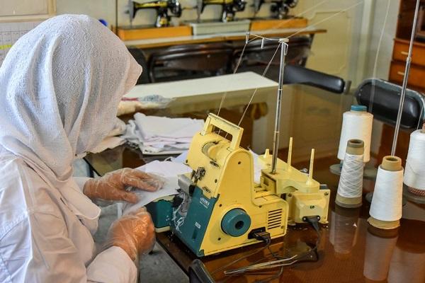 افتتاح ۴ کارگاه تولید ماسک در استان ایلام توسط سپاه پاسداران