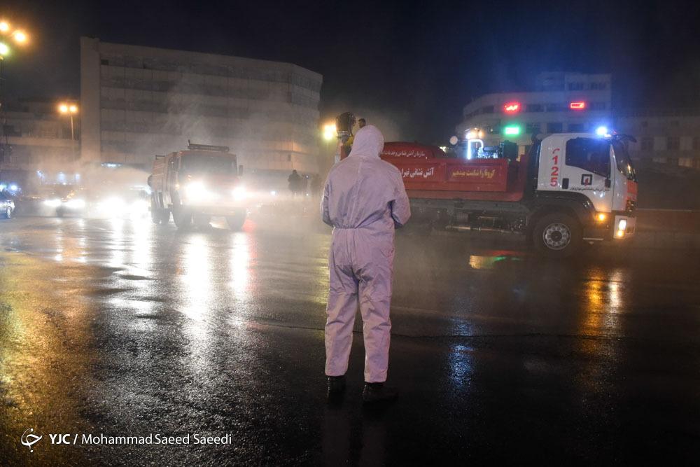 جزئیات ۶ دستگاه جدید پاشنده محلول ضدعفونی کننده سازمان آتش نشانی