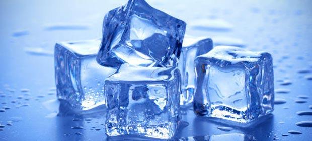 کاربردهای یخ در خانه داری