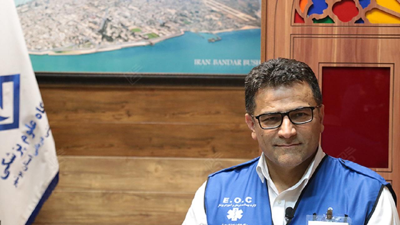 یک نفر به آمار مبتلایان کرونا در بوشهر افزوده شد
