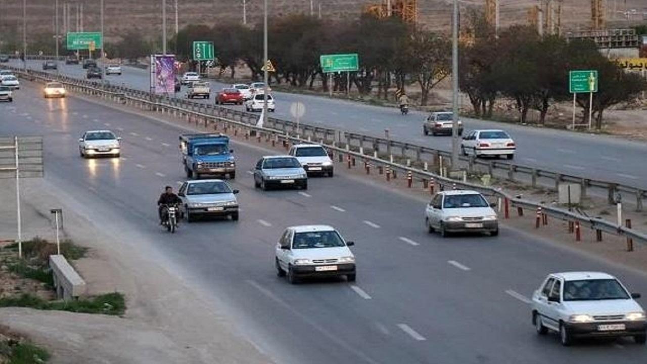 کاهش ۶۹ درصدی تردد در جادههای چهارمحال و بختیاری