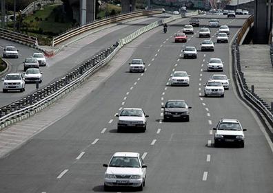 کاهش ۵۸ درصدی ترددها در جادههای استان همدان