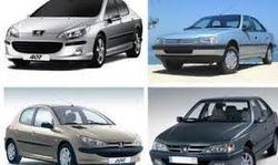 انواع خودرو پژو ۶۰ میلیون تومانی + جدول