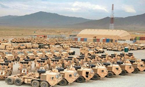 آیا آمریکا برای حمله به عراق آماده میشود؟ + فیلم