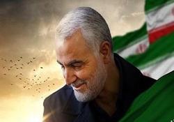 فرماندهای که پیش از خداحافظی بوسه بر دست یک مدافع حرم زد / فیلمی تاثیرگذار از سردار شهید سلیمانی