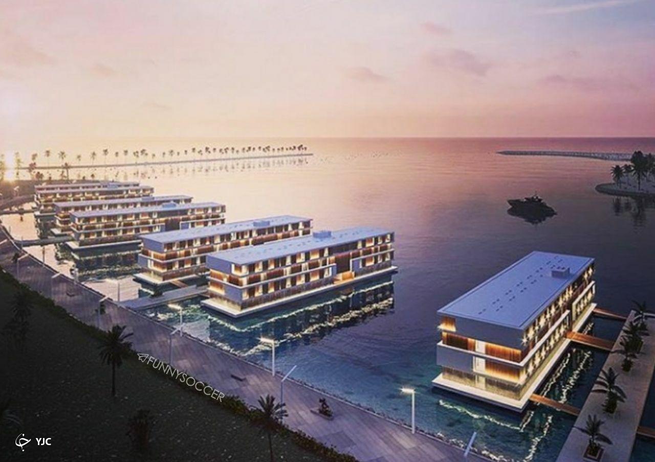 قطر هتل شناور برای رقابتهای جام جهانی ۲۰۲۰ میسازد