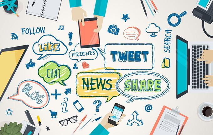 برنامه سوشال مدیا چیست