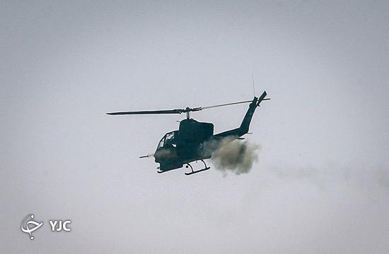 طوفان جمهوری اسلامی ایران با ساخت بالگرد رزمی بومی + فیلم و تصاویر