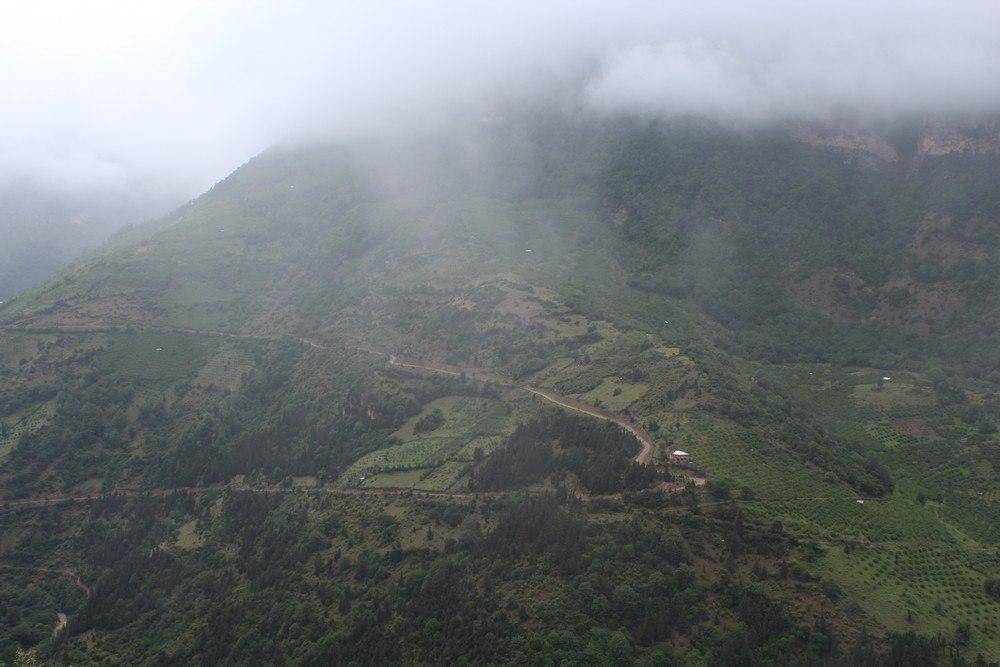 مناظر بهاری اشکورات رودسر  در گیلان در قاب تصویر