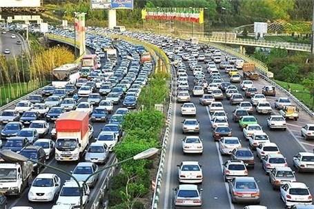 بیشترین ترددهای ثبت شده درجادهها مربوط به خودروهای شخصی است