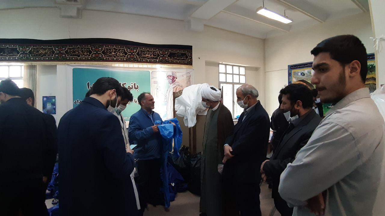 بازدید رئیس سازمان فرهنگی هنری شهرداری تهران از قرارگاه جهادی حضرت زینب (س)