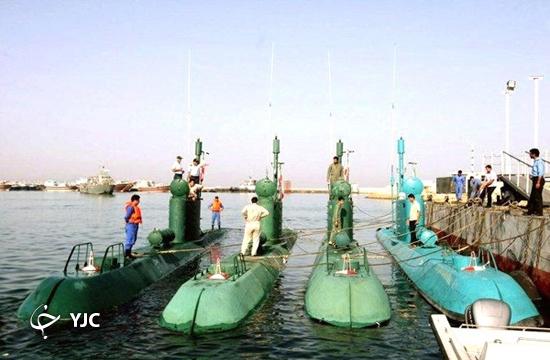 از تولید تا اورهال قاتل شناورهای میلیون دلاری/ زیردریایی غدیر سلاح راهبردی ایران در خلیج فارس + فیلم و تصاویر