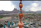 باشگاه خبرنگاران - روایتی از پرداخت شمسه ی گلدسته های مسجد مقدس جمکران + فیلم