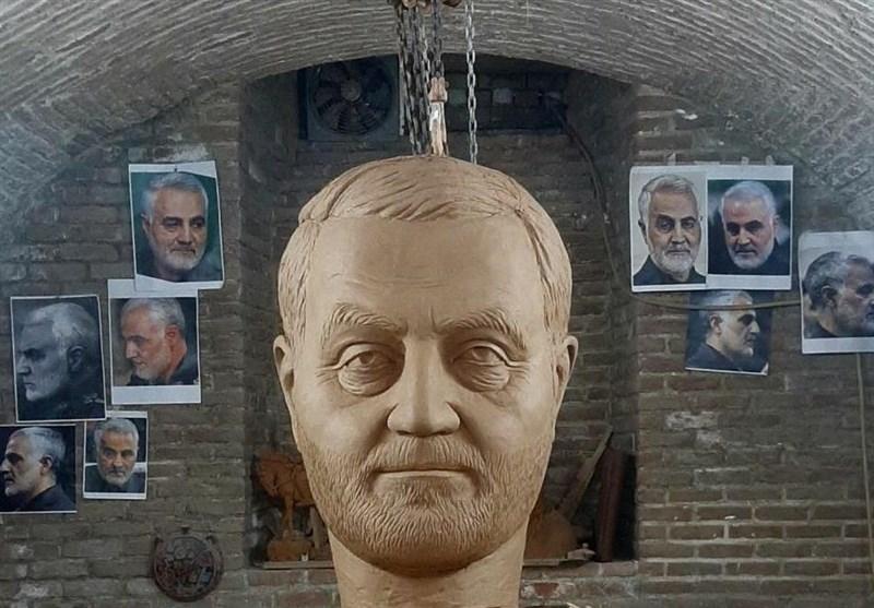 مجسمه سردار سلیمانی