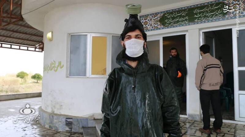 این پرستار داوطلب، مدافع حرم است + تصاویر