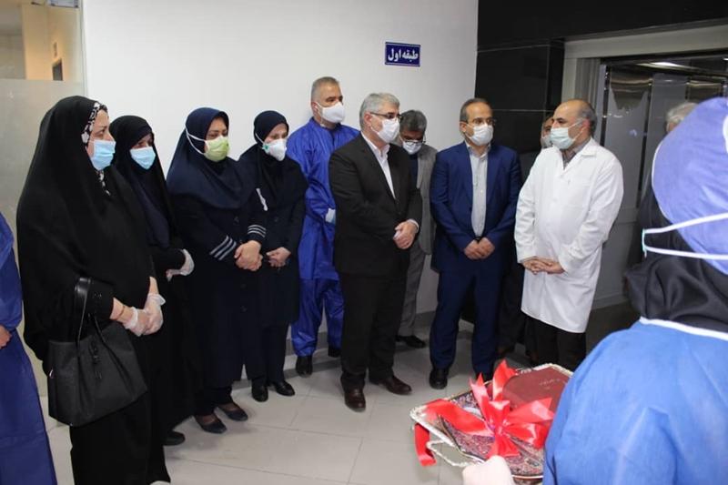 افتتاح ۳۰ تخت ICU بیمارستان رازی رشت