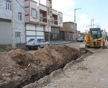 حل مشکل قطع اب در حاشیه شهر سنندج با اجرای طرح خط انتقال آب