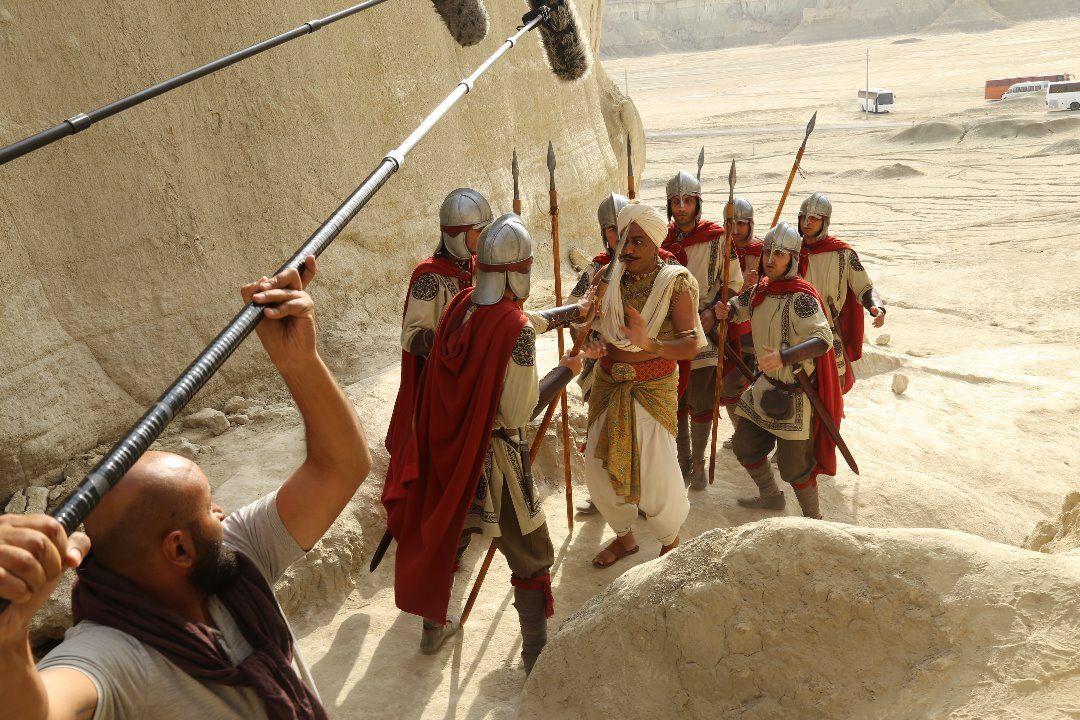اولین عکس از گریم متفاوت «محمدرضا هدایتی» در سریال «سلمان فارسی»