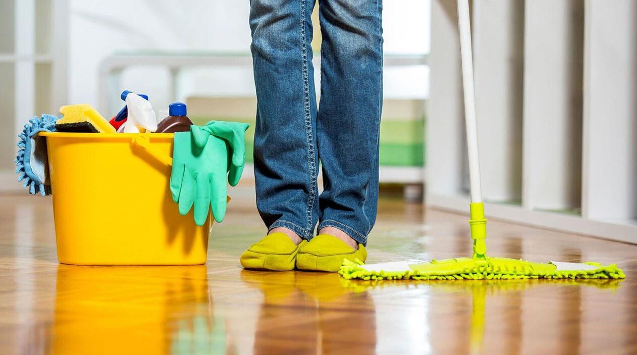 ایمنی و بهداشت درتمیز کردن خانه!