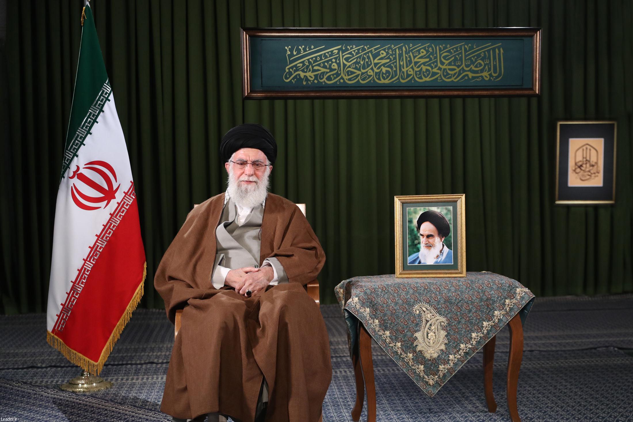 سخنرانی مقام معظم رهبری به مناسبت فرارسیدن سال نو و عید مبعث آغاز شد