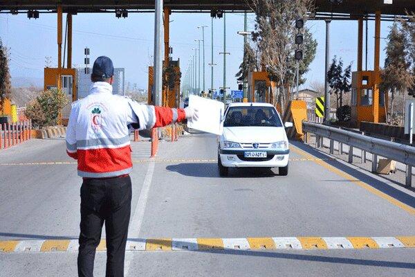 اعمال محدودیت تردد در ورودیهای شهرستان میبد