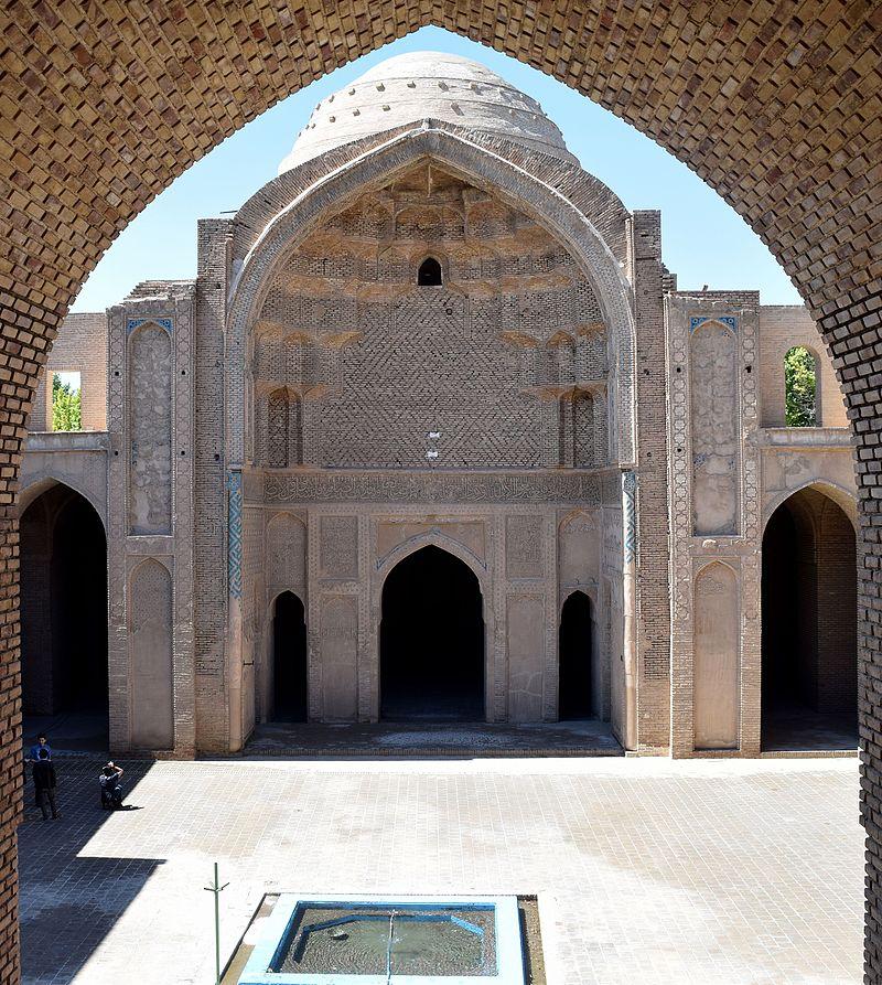 یکی از قدیمیترین بناهای شهر ورامین به روایت تصاویر+فیلم