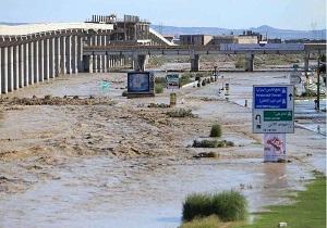 مسیر بستر رودخانه قمرود بسته شد