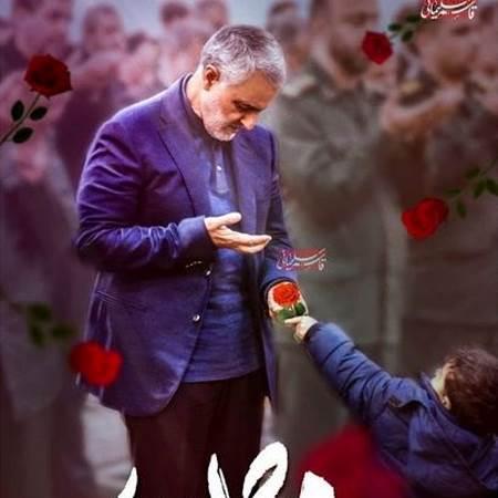 دو تصویر متفاوت از رهبر انقلاب و سردار سلیمانی؛ روی خوش، رسم مردان نیک روزگار است