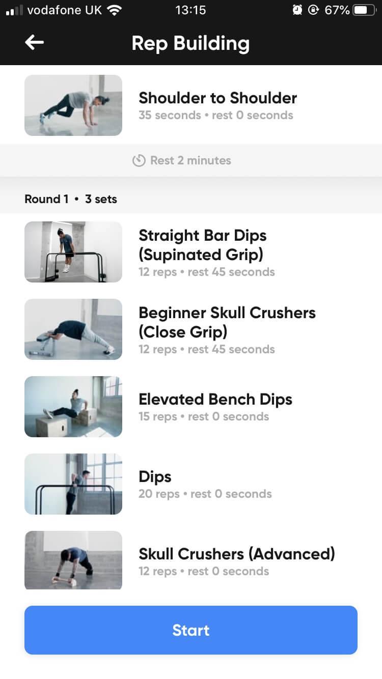 دانلود Thenx 4.1 – برنامه بدنسازی و تمرینات تکنیکال ورزشی