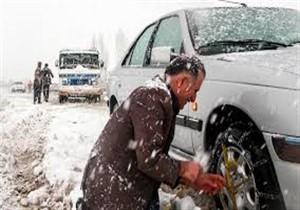 بارش برف در مناطق کوهستانی گلستان