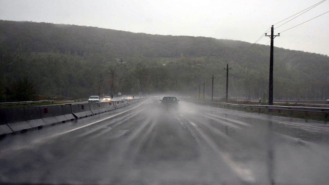 لغزندگی در سطح جادههای استان سمنان