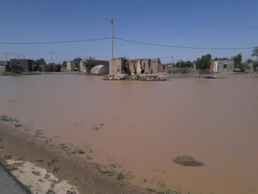 خسارت ۱۵ میلیارد تومانی سیل در قلعه گنج