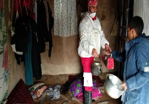 آبگرفتگی منازل در روستاهای خارستان و لجونگ درح