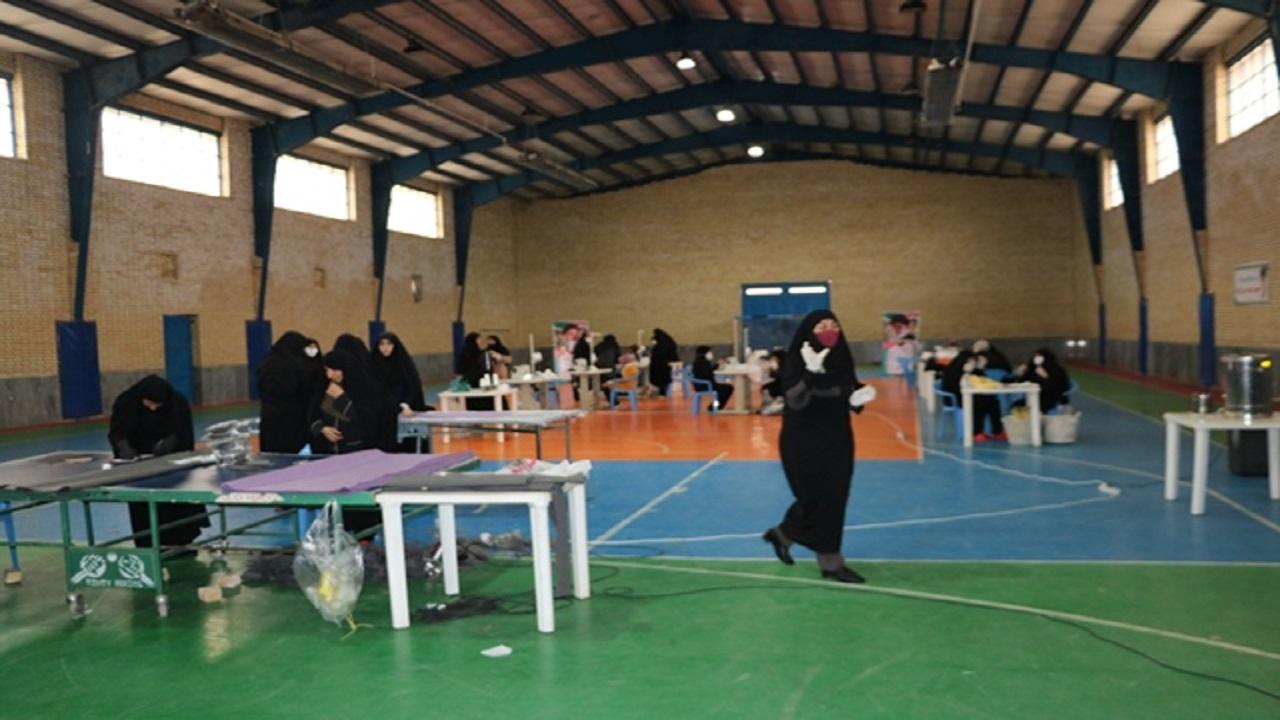 تولید روزانه دو هزار ماسک توسط جهادگران بسیجی شهرکرد