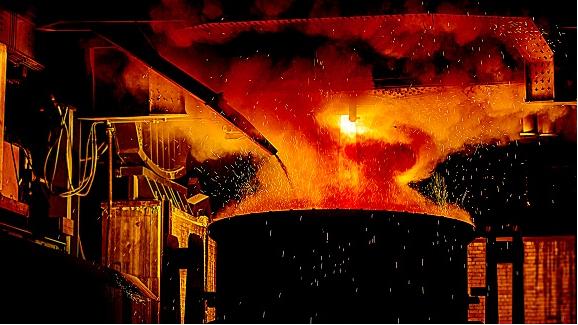 تولید در فولاد کاوه جنوب کیش رکوردزنی کرد