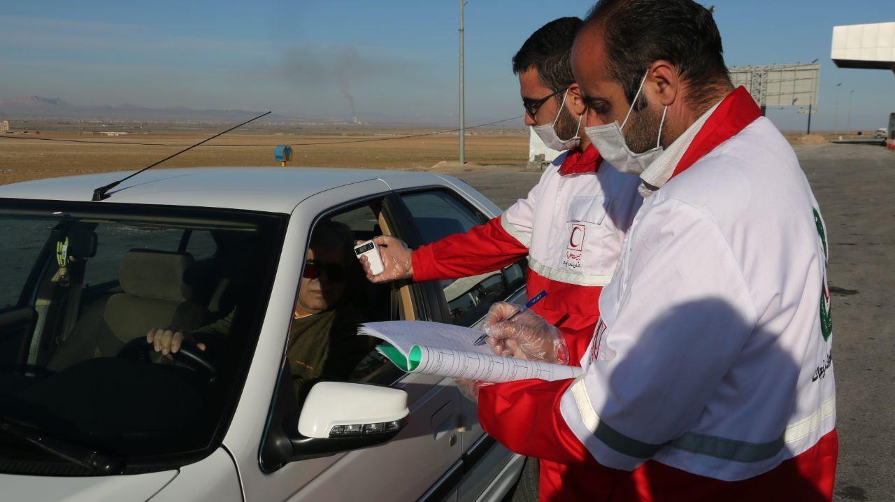 تست غربالگری کرونا در ۱۷ ورودی استان کرمان